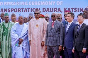 Photos: President Buhari Commends Siting Of University Of Transportation In Daura