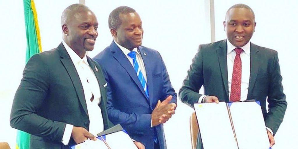 Akon finalizes Agreement for 'Akon City' in Senegal