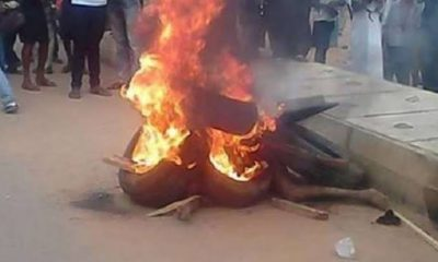 Two men burnt to ashes for robbing a pregnant woman