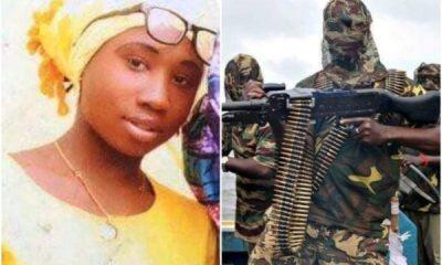 Leah Sharibu is one of 110 Dapchi Girls kidnapped in Yobe state in 2018