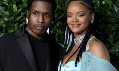 Rihanna and ASAP Rocky at VMAs