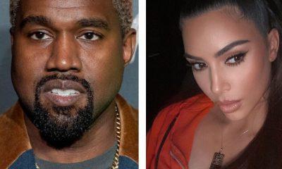 Kanye West and Kim K