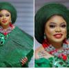 Bobrisky dressed as a Yoruba bride