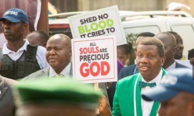 RCCG General Overseer, Adeboye Leads Walk Against Insecurity, Killings In Nigeria