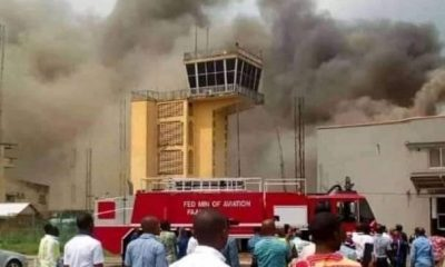 Fire at Imo airport