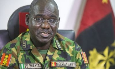 The Chief of the Army Staff, Lt. Gen. Tukur Buratai