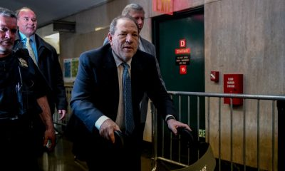 Harvey Weinstein, seen arriving at court in Manhattan on Monday, has been on trial for over a month