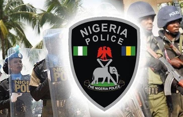 Nigeria police badge