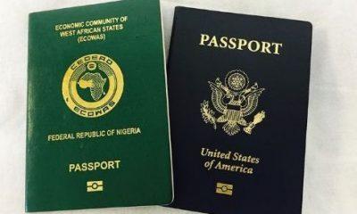 Nigeria and US passport