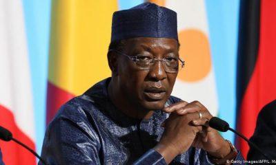 Chad president, Idriss Deby