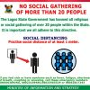 Covis-19: Lagos Reduces Number Of Persons Allowed At Gatherings From 50 to 20 Persons