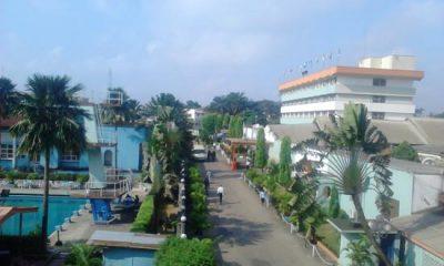 Exterior of Lagos Airport Hotel