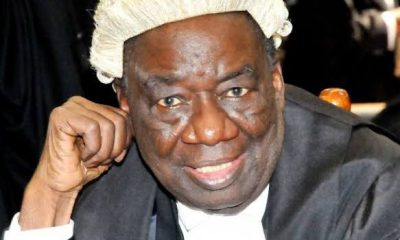 Richard Akinjide, former Attorney General of the Federation