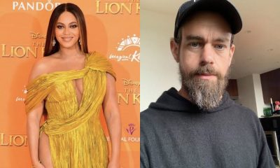 Beyonce and Jack Dorsey