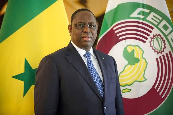 Senegal's President, Macky Sall