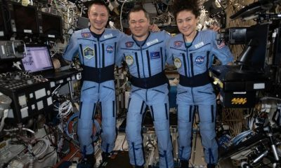 NASA astronauts comes back from space