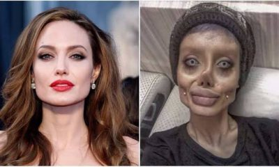 Angelina Jolie's lookalike