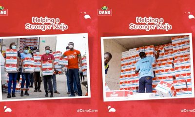 COVID-19: TG Arla, Makers Of Dano Milk Commits N150 Million To Health & Well-Being Of Nigerians