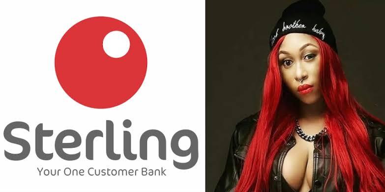 Sterling bank and Cynthia Morgan