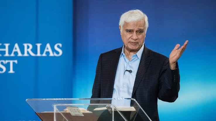 Ravi Zacharias teaching