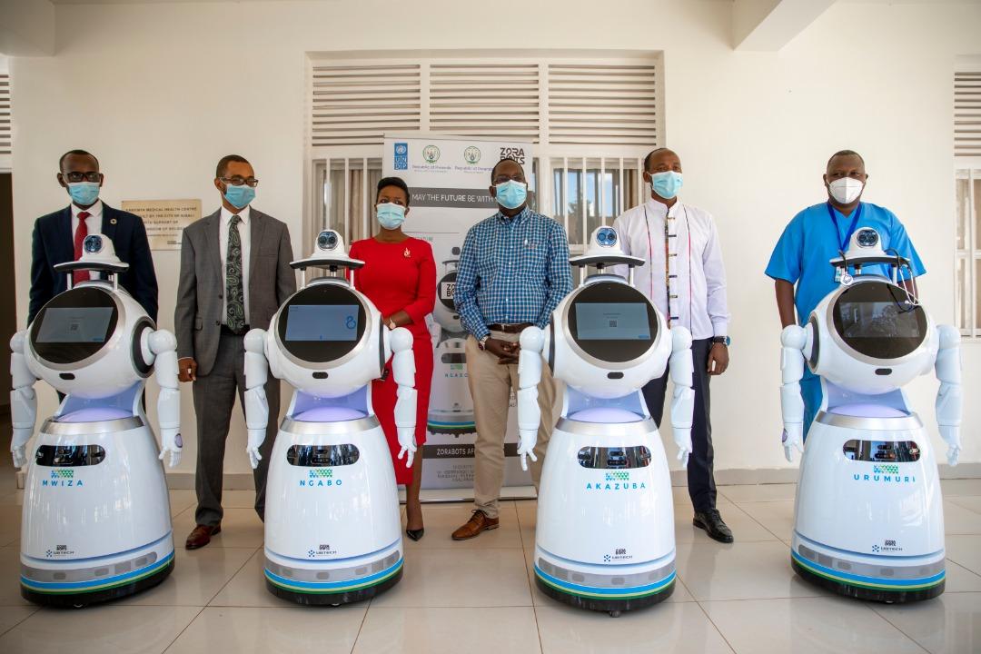 Rwanda high-tech robot for fight Coronavirus