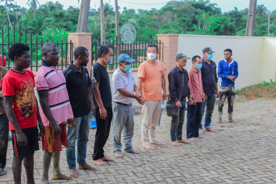 Osun Arrests 17 Chinese, 10 Locals Over Illegal Mining ...