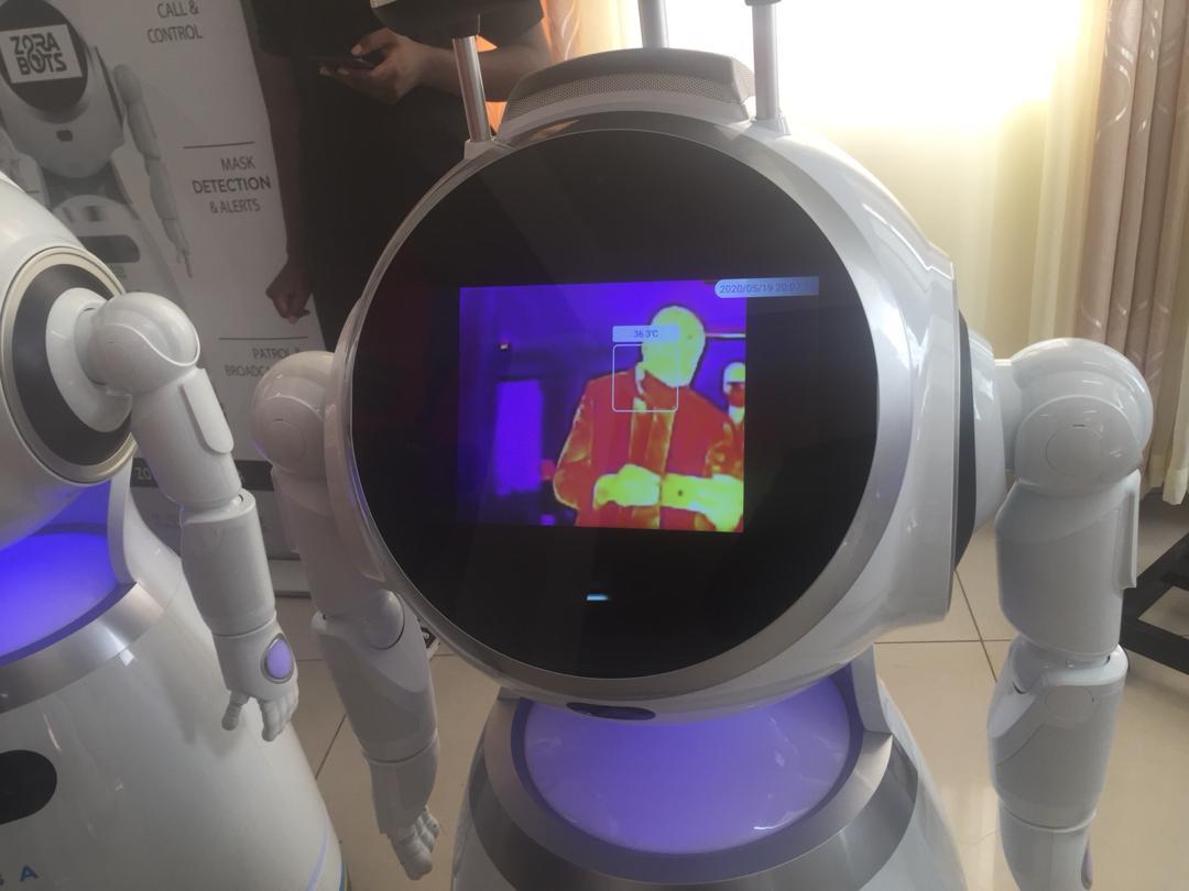 Rwanda high tech robots