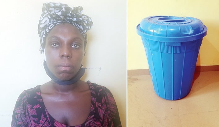 Woman drowns daughter in bucket of water