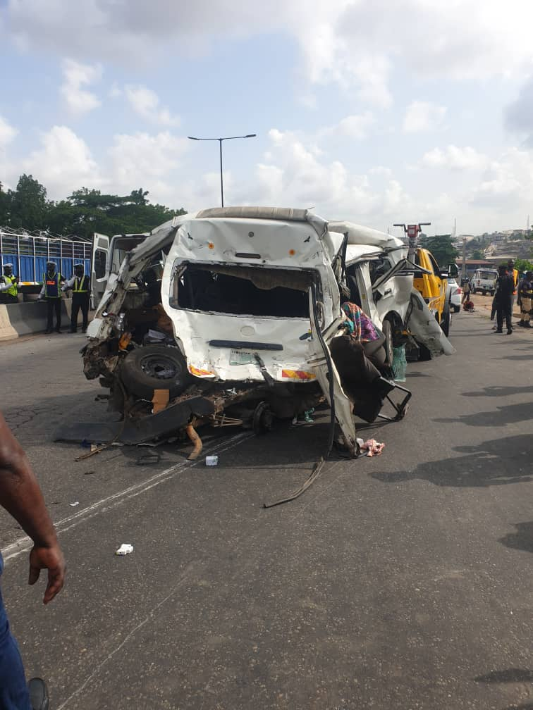 Accident on Otedola road