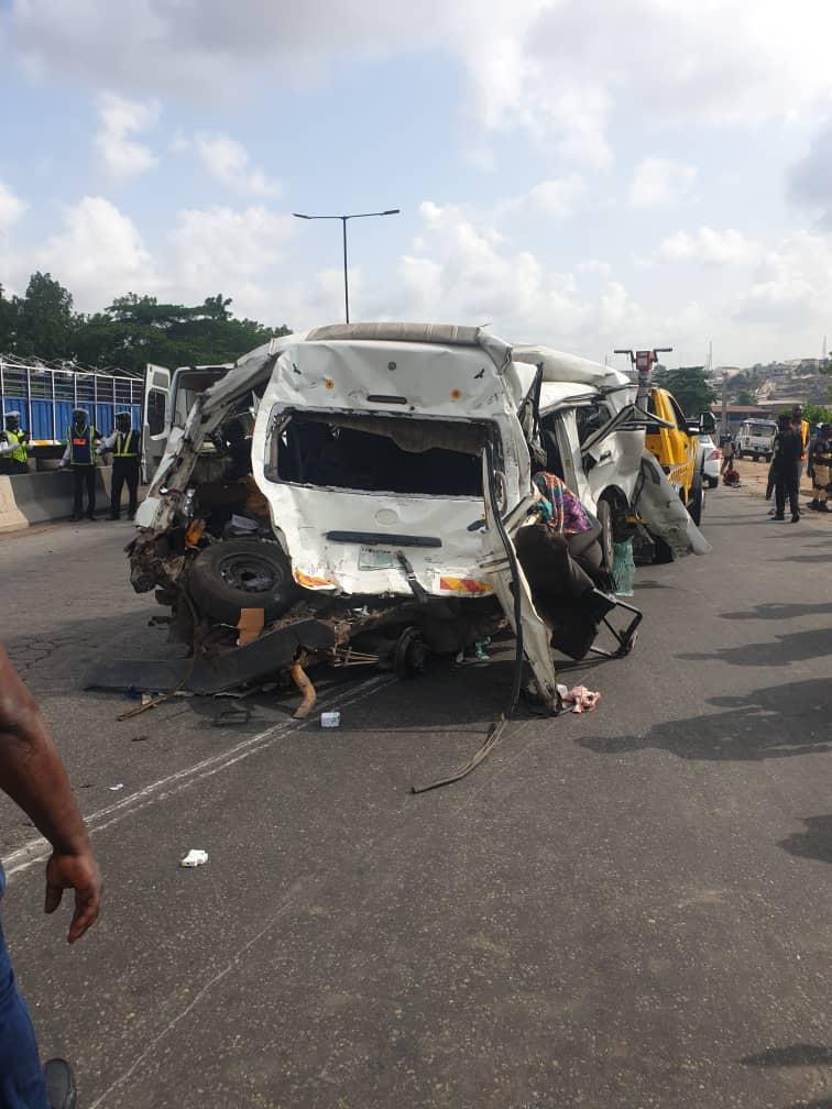 Accident on Otedola road