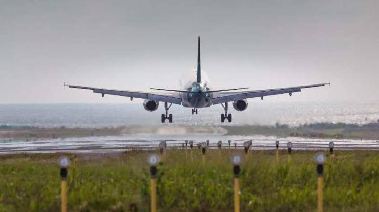 ban imposed on local and international flights by four weeks.