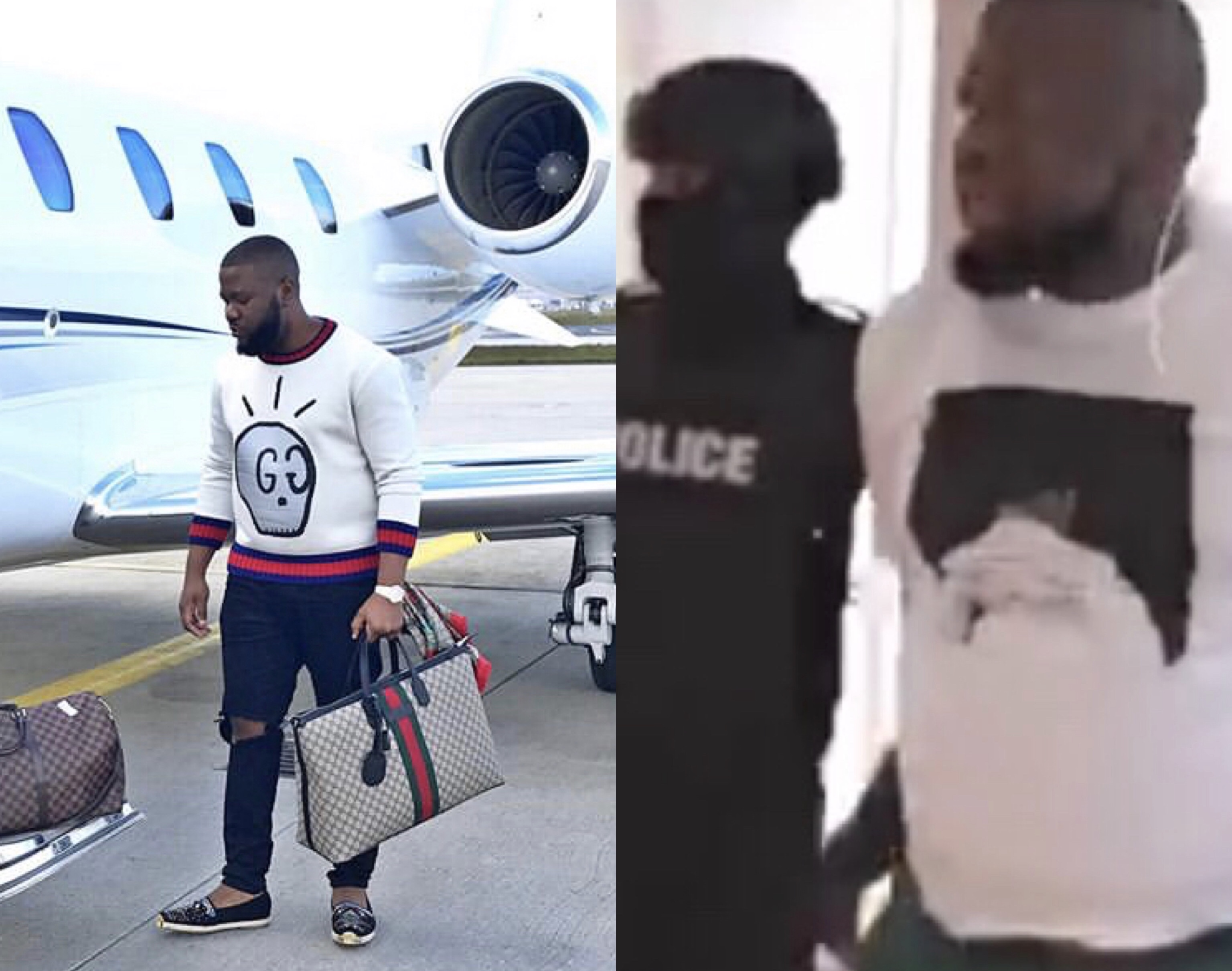 Hushpuppi arrested by Dubai police