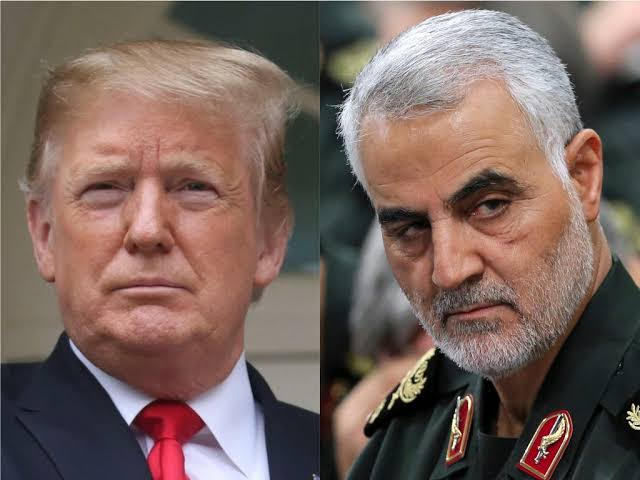 Iran issue warrant of arrest for Donald Trump over the killing of Qasem Soleimani