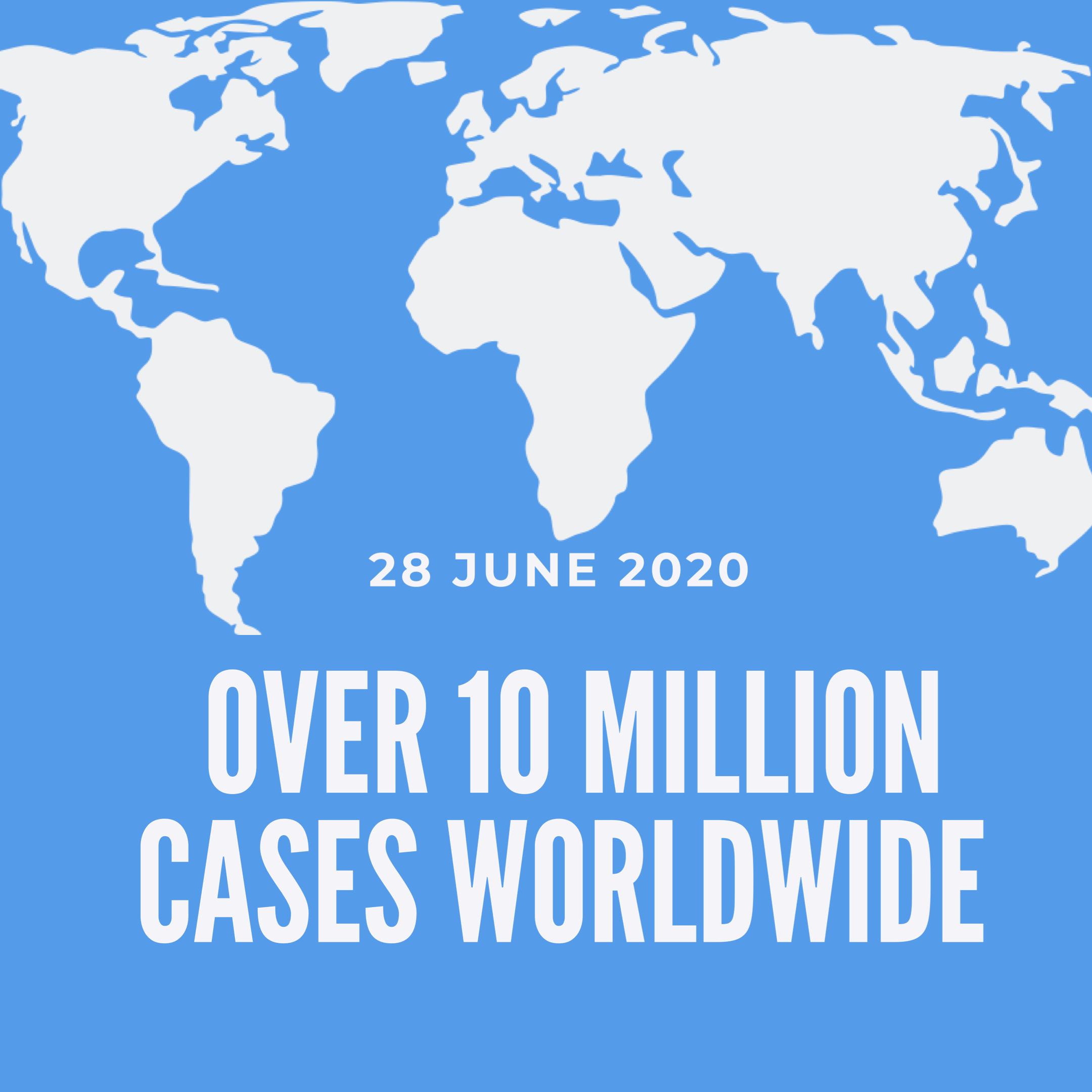 Coronavirus cases globally