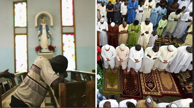 Reopening of churches and mosques