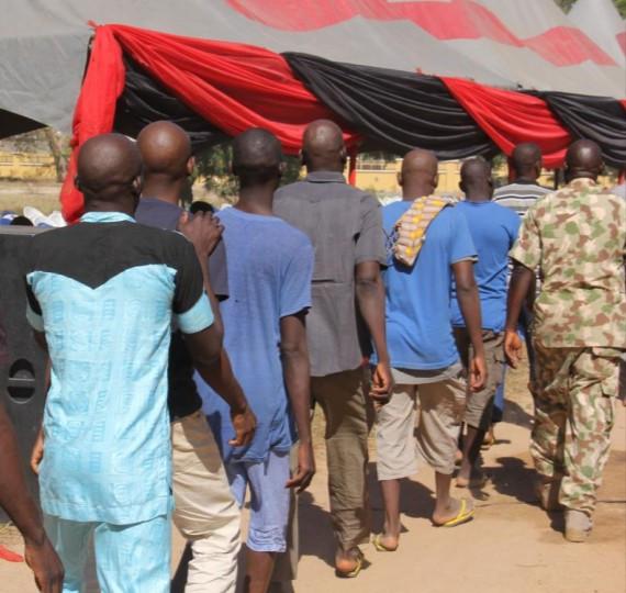 Repentant Boko Haram members