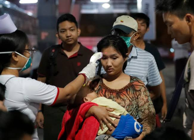 East of Myanmar where people have not heard about coronavirus