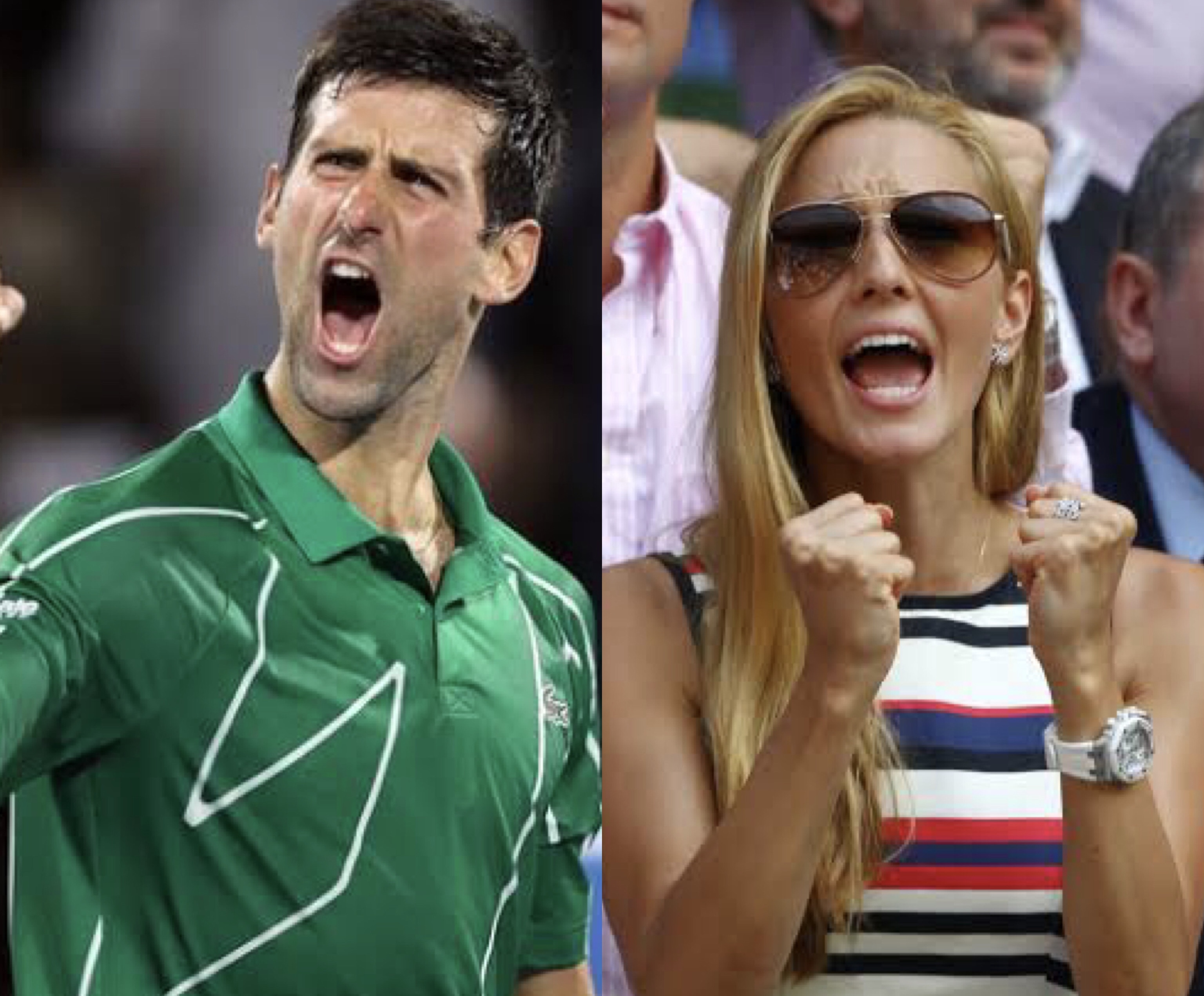 Novak Djokovic and wife tests positive for coronavirus
