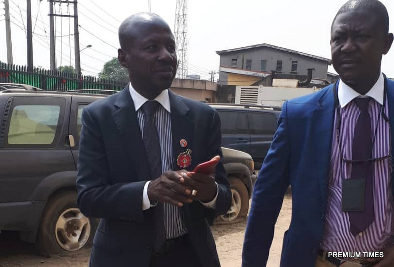 Suspended EFCC boss Ibrahim Magu released