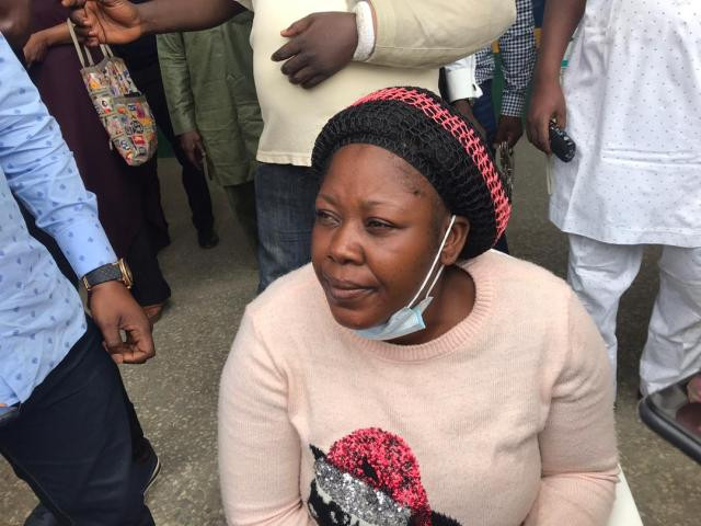 37-year-old woman, Torkwase Queen Ayakpa, for staging her own kidnap in order to test her elder sister's love for her.