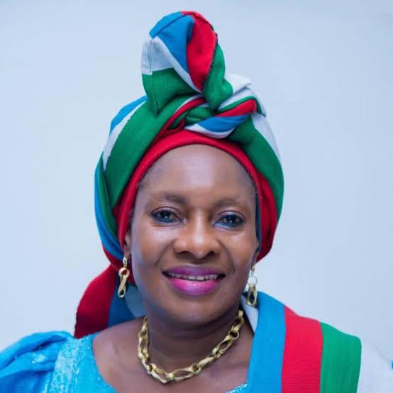 Minister of Women Affairs and Social Development, Senator Pauline Tallen