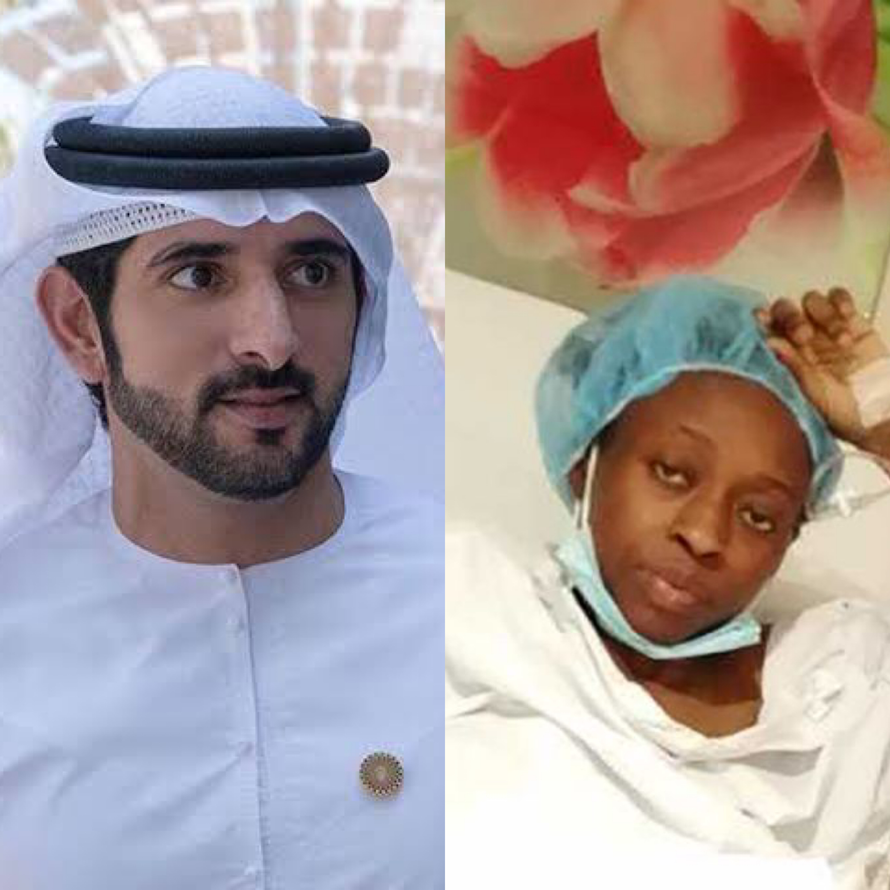 Dubai Crown Prince Settles Hospital Bill Of Nigerian Couple Stranded With Their Quadruplets