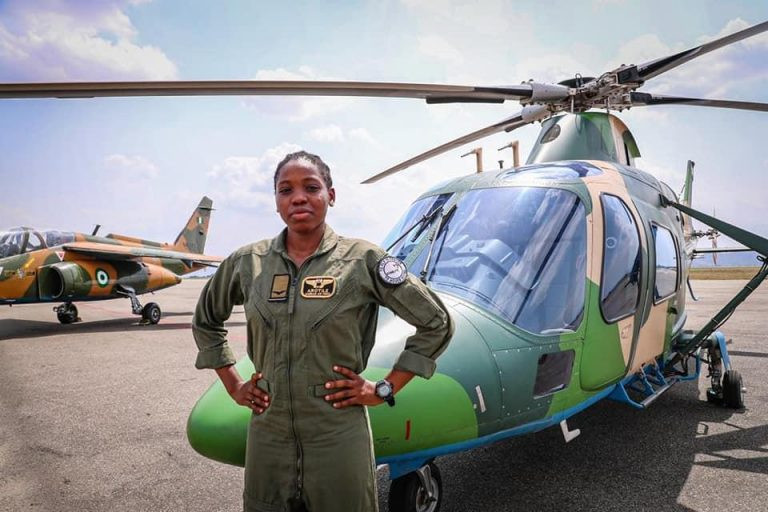 Nigerian Air Force's first female combat helicopter pilot, Tolulope Arotile, has died at 23 in a road accident