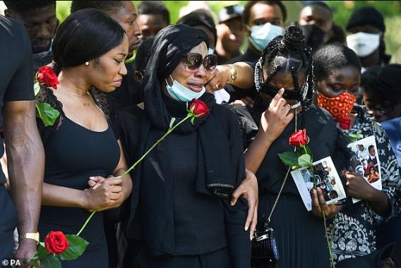 BBNaija Star Khafi Gives Heartfelt Eulogy At Brother's Funeral
