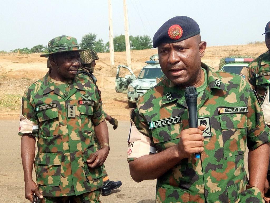 Commander of operation safe haven in Kaduna state, Chukwuemeka Okonkwo