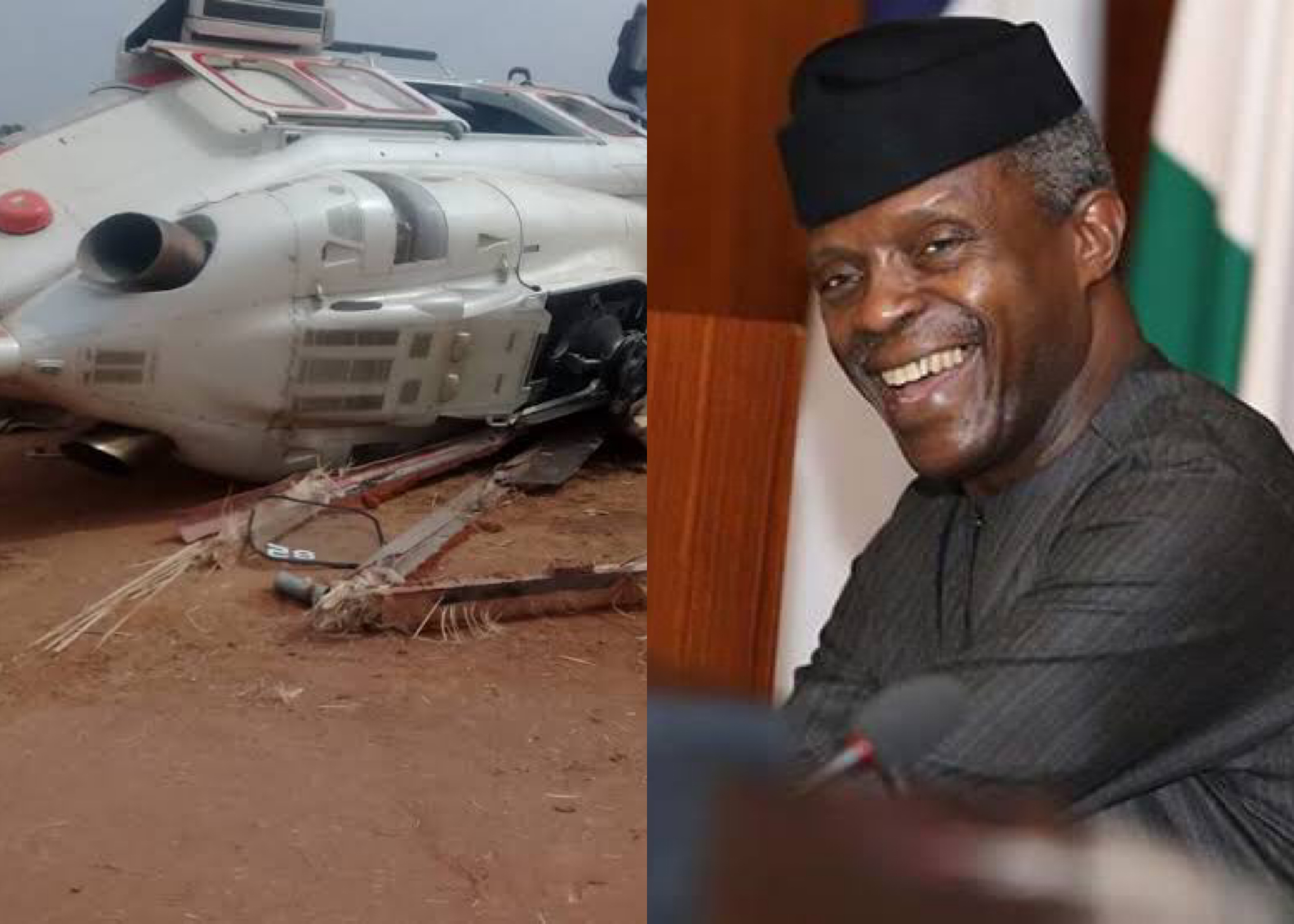 Yemi Osinbajo plane crash