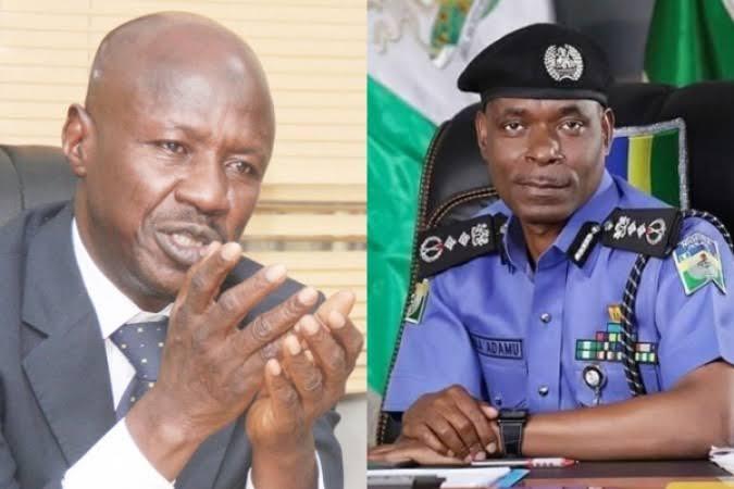 Police denies detaining Magu