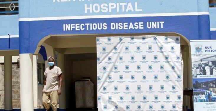 Kenya isolation centre