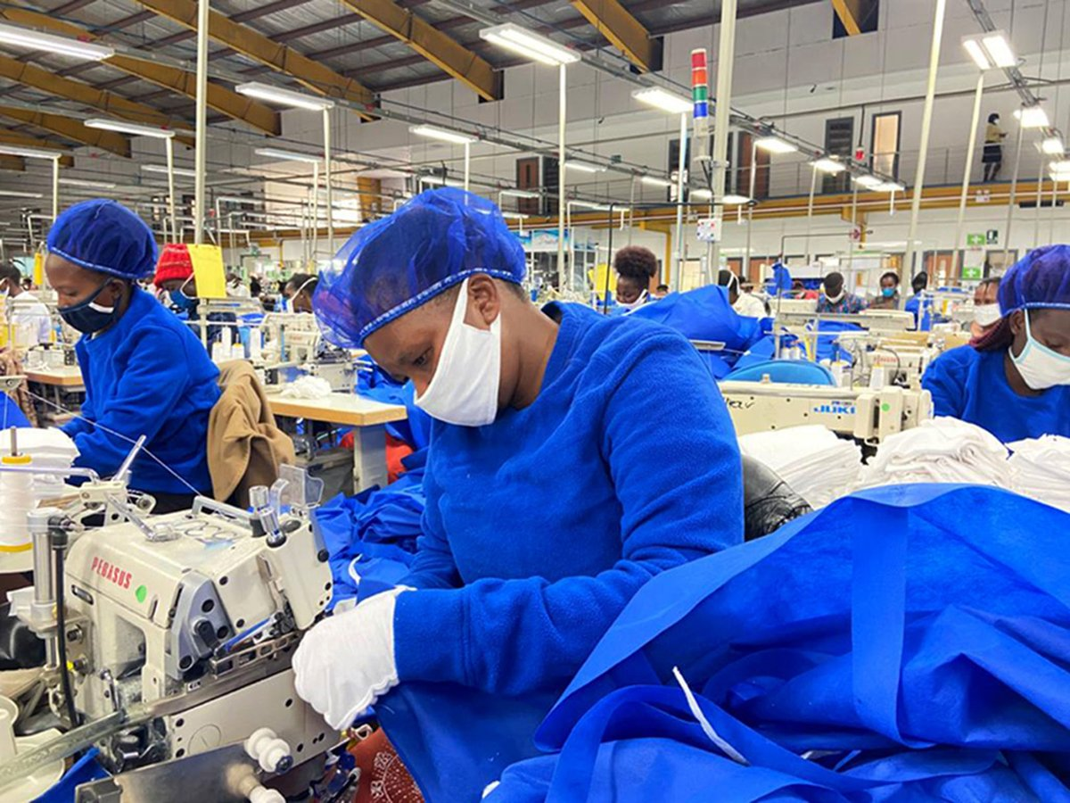 Personal Protective Equipment production