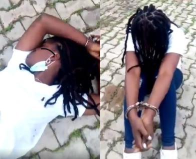 Policemen verbal harass female suspect in Ibadan